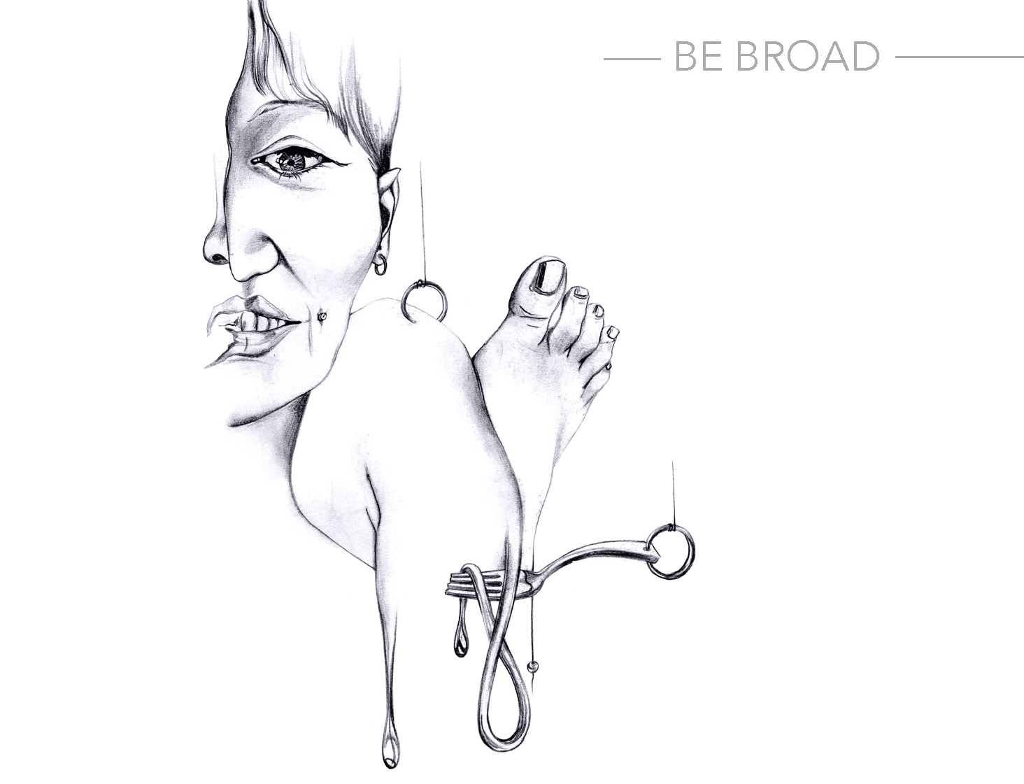 Be Broad Illustration